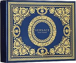 Fragrances, Perfumes, Cosmetics Versace Pour Homme - Set (edt/50ml + sh/g/50ml + ash/balm/50ml)