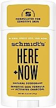 Fragrances, Perfumes, Cosmetics Natural Antiperspirant - Schmidt's Here +Now Natural Deodorant