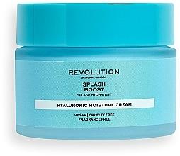 Fragrances, Perfumes, Cosmetics Moisturizing Hyaluronic Acid Face Cream - Revolution Skincare Splash Boost with Hyaluronic Acid