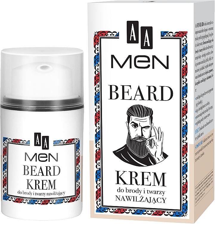 Beard and Face Cream - AA Men Beard Face Cream