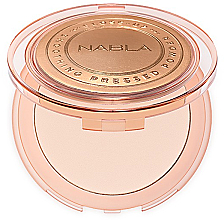 Fragrances, Perfumes, Cosmetics Compact Face Powder - Nabla Close-Up Smoothing Pressed Powder