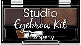 Fragrances, Perfumes, Cosmetics Brow Shadow Set - Miss Sporty Studio Eyebrow Kit