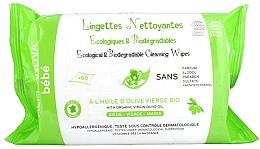 Fragrances, Perfumes, Cosmetics Organic Biodegradable Baby Wipes - Alphanova Bebe