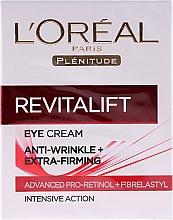 Fragrances, Perfumes, Cosmetics Eye Cream - L'Oreal Paris Revitalift