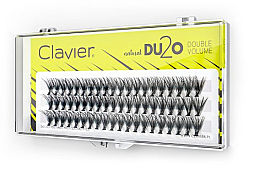 "Fragrances, Perfumes, Cosmetics False Lashes ""Double Volume"", 11mm - Clavier DU2O Double Volume"