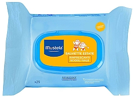 Fragrances, Perfumes, Cosmetics After Tan Wet Wipes - Mustela Bebe After Sun Wipes