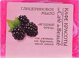 "Fragrances, Perfumes, Cosmetics Glycerin Soap ""Berry Fresh"" - Le Cafe de Beaute Glycerin Soap"