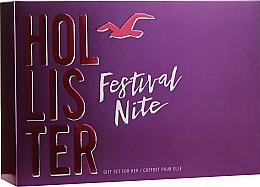 Fragrances, Perfumes, Cosmetics Hollister Festival Nite For Her - Set (edp/100ml + b/lot/100ml + acc)