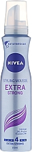 Fragrances, Perfumes, Cosmetics Hair Mousse - Nivea Extra Strong Styling Mousse