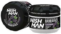 Fragrances, Perfumes, Cosmetics Hand & Face Cream - Nishman Hand & Face Cream Blackberry