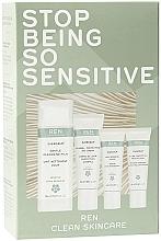 Fragrances, Perfumes, Cosmetics Set - Ren Clean Skincare Evercalm Stop Being So Sensitive! Kit (milk/50ml+day/cr/15ml+mask/10ml+ser/10ml)