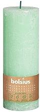 Fragrances, Perfumes, Cosmetics Cylindrical Candle, grren, 190x68 mm - Bolsius