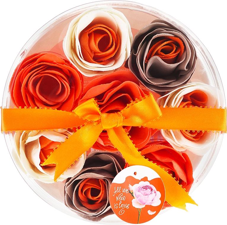 """Bath Confetti """"Orange"""", 8 pcs - Spa Moments Bath Confetti Orange"""