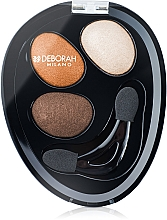 Fragrances, Perfumes, Cosmetics Eyeshadow - Deborah Hi-Tech Eye Shadow Trio