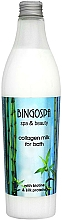 Fragrances, Perfumes, Cosmetics Collagen & Silk Protein Bath Milk - BingoSpa