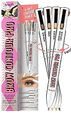 Fragrances, Perfumes, Cosmetics Brow Pencil 4 in 1 - Benefit Brow Contour Pro