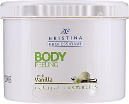 Fragrances, Perfumes, Cosmetics Vanilla Body Peeling - Hristina Professional Vanilla Body Peeling
