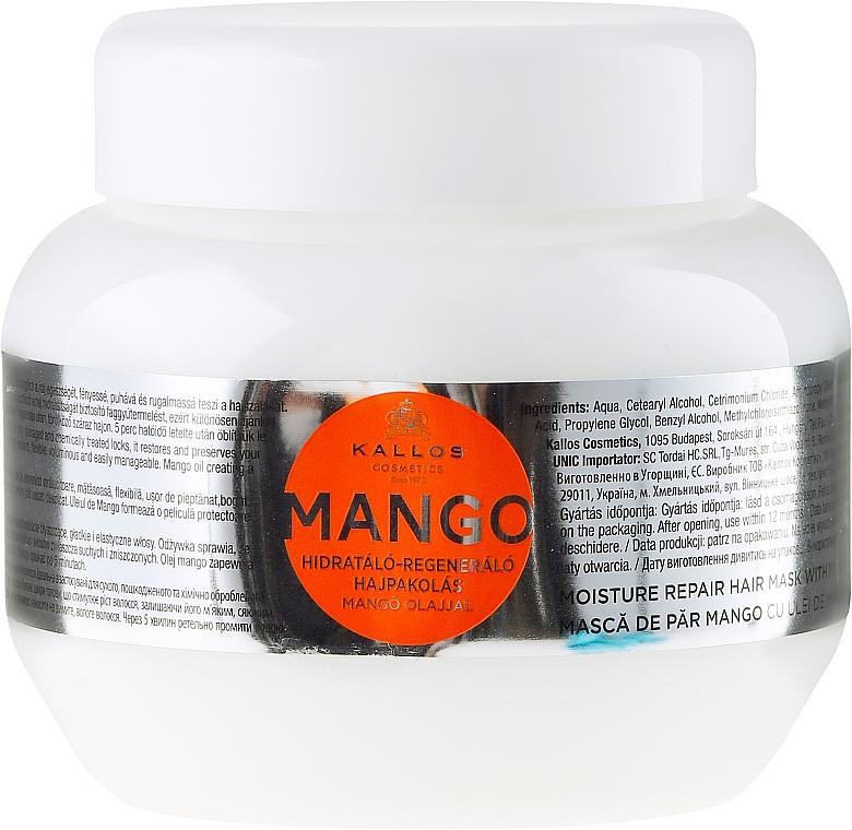 "Hair Mask ""Mango"" - Kallos Cosmetics Mango"