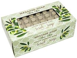 Fragrances, Perfumes, Cosmetics Olive Massage Scrub Soap - Gori 1919 Massage Scrub Soap Olive