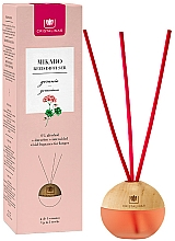 "Fragrances, Perfumes, Cosmetics Reed Diffuser Sphere ""Geranium"" - Cristalinas Mikado Reed Diffuser"
