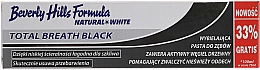 Fragrances, Perfumes, Cosmetics Toothpaste - Beverly Hills Formula Natural White Total Breath Black