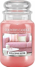 Fragrances, Perfumes, Cosmetics Scented Candle in Jar - Country Candle Welcome Home