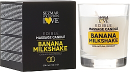 "Fragrances, Perfumes, Cosmetics Natural Massage Candle ""Banana"" - Sezmar Collection"