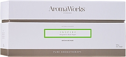 "Fragrances, Perfumes, Cosmetics Bath Bomb ""Inspire"" - AromaWorks Inspire AromaBomb Duo"