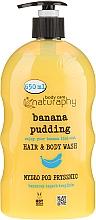 "Fragrances, Perfumes, Cosmetics Shampoo-Shower Gel ""Banana & Aloe Vera"" - Bluxcosmetics Naturaphy"