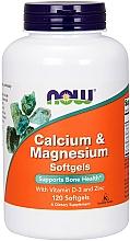 Fragrances, Perfumes, Cosmetics Calcium & Magnesium with Vitamin D-3 & Zinc - Now Foods Calcium & Magnesium Softgels