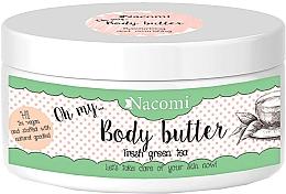 Fragrances, Perfumes, Cosmetics Avocado & Green Tea Body Butter - Nacomi Body Butter Refreshing Green Tea