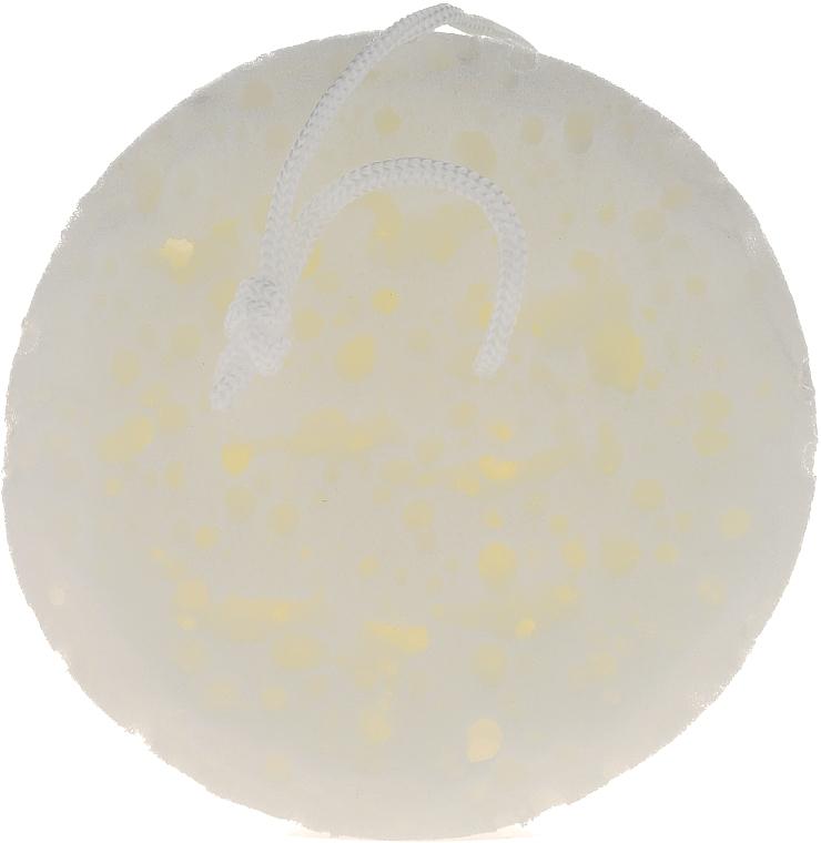 Bath Sponge, 6008, white - Donegal