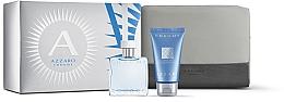 Fragrances, Perfumes, Cosmetics Azzaro Chrome - Set (edt/30ml + shmp/50ml + bag)