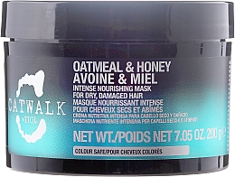 Fragrances, Perfumes, Cosmetics Repair Hair Mask - Tigi Catwalk Oatmeal & Honey Nourishing Mask