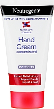 Fragrances, Perfumes, Cosmetics Concentrated Hand Cream - Neutrogena Norwegian Formula Concentrated Unscented Hand Cream