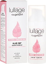 Fragrances, Perfumes, Cosmetics Soothing Face Fluid for Sensitive Skin - Lullage RougeXpert Rojeces-Piel Sensible Fluid 360