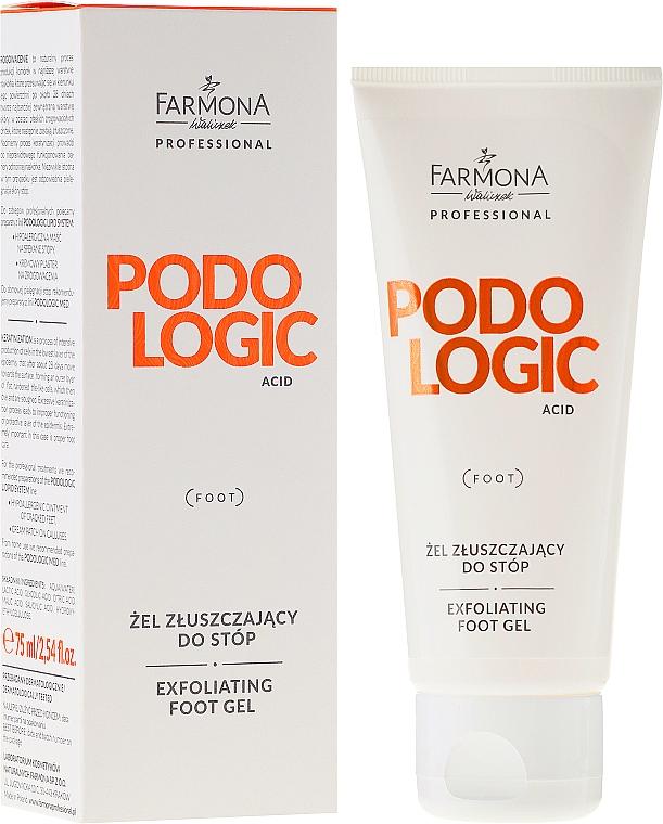 Foot Exfoliating Gel - Farmona Professional Podologic Acid Foot Gel Exfoliating