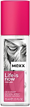 Fragrances, Perfumes, Cosmetics Mexx Life is Now for Her - Deodorant