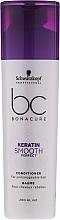 Fragrances, Perfumes, Cosmetics Unruly Hair Conditioner - Schwarzkopf Professional Bonacure Keratin Smooth Perfect Conditioner
