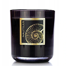 Fragrances, Perfumes, Cosmetics Scented Candle in Glass - Kringle Candle Nautilus Black Jar Candle
