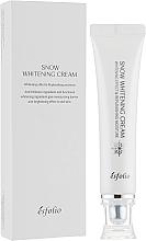 Fragrances, Perfumes, Cosmetics Moisturizing Whitening Face Cream - Esfolio Snow Whitening Cream