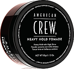 Fragrances, Perfumes, Cosmetics Heavy Hold Hair Styling Pomade - American Crew Heavy Hold Pomade