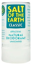 Fragrances, Perfumes, Cosmetics Natural Crystal Deodorant Stick - Salt of the Earth Crystal Classic Deodorant