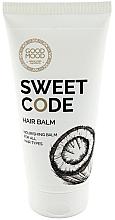 Fragrances, Perfumes, Cosmetics Nourishing Coconut Oil Hair Balm - Good Mood Sweet Code Hair Balm