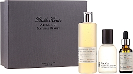 Fragrances, Perfumes, Cosmetics Bath House Spanish Fig and Nutmeg - Set (edc/100ml + sh/gel/260ml + oil/30ml)