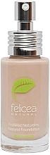 Fragrances, Perfumes, Cosmetics Natural Face Foundation - Felicea Natural Foundation