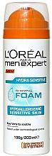Fragrances, Perfumes, Cosmetics Shaving Foam for Sensitive Skin - L'Oreal Paris Men Expert Hydra Sensitive