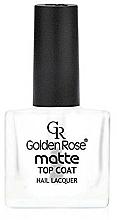 Fragrances, Perfumes, Cosmetics Matte Top Coat - Golden Rose Matte Top Coat