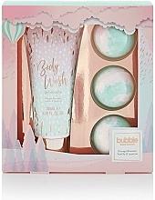 Fragrances, Perfumes, Cosmetics Set - Style & Grace Bubble Boutique Bath Bombed Gift Set (b/wash/200ml + 3xb/fizzer/80g)