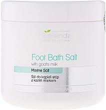Fragrances, Perfumes, Cosmetics Foot Bath with Goat's Milk - Bielenda Professional Foot Bath Salt With Goat's Milk